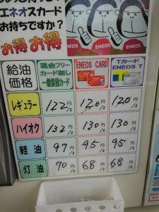 ENEOS 価格